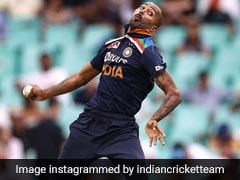"""""""India's Best All-Rounder"""": Fans Hail Hardik Pandya As He Bowls After 14 Months"""