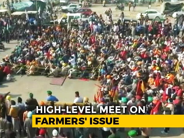 Video : Amit Shah's Late-Night Meet As Defiant Farmers Threaten To Block Delhi