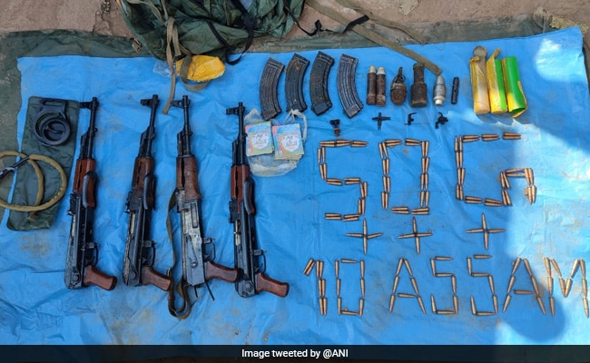 Terror Hideout Busted In J&K's Poonch, Arms And Ammunition Recovered