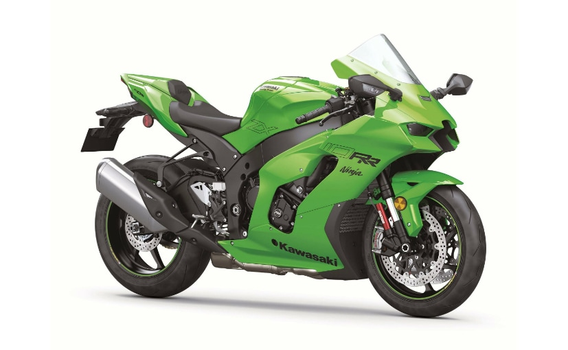 The Kawasaki Ninja ZX-10RR is a more track-focussed model based on the ZX-10R