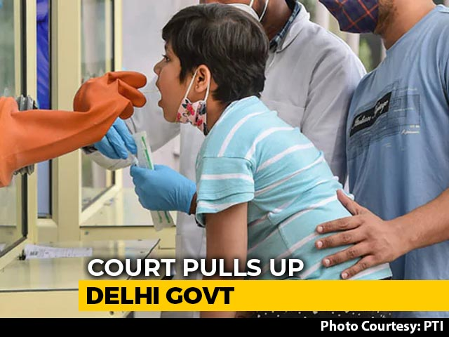 """Video : """"Why Wait 18 Days?"""" High Court Blasts Delhi Government Amid Covid Surge"""