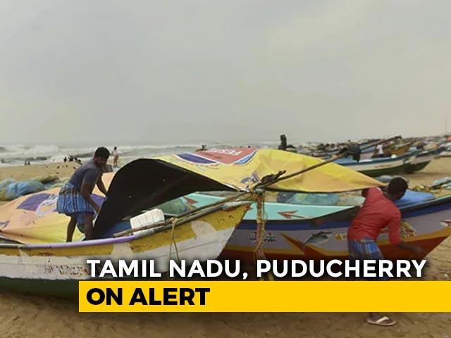 Video : Cyclone Nivar Makes Landfall; Heavy Rain In Chennai, Puducherry