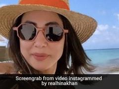 हिना खान ने बोटिंग करते हुए दिखाया मालदीव का नजारा, सोशल मीडिया पर जमकर वायरल हो रहा है Video