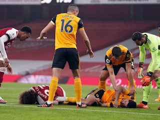 """Premier League: Wolves """"Pray"""" For Raul Jimenezs Recovery After Win At Arsenal"""