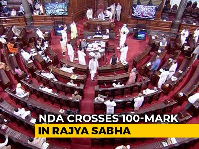 Video : NDA Crosses 100-Mark In Rajya Sabha, Congress Drops To Lowest Ever Tally
