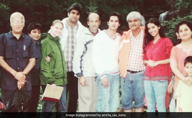 On 14 Years Of Vivah, A Pic Of Shahid Kapoor And Amrita Rao From The 'Last Day Of Shoot'