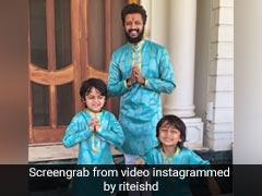 रितेश देशमुख ने मम्मी की पुरानी साड़ी से बनवा लिए नए कपड़े, दिवाली पर वायरल हुआ Video