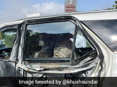 """My Car Was In Right Lane"": BJP's Khushbu Sundar On Tamil Nadu Accident"