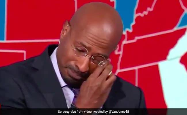On-Camera, CNN Host Breaks Down As Joe Biden Wins