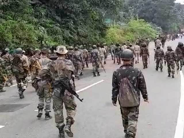 Video : At Least 1 Dead, Several Injured As Police Fire At Protesters In Tripura