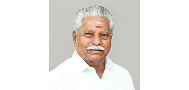 तमिलनाडु के कृषि मंत्री का 72 वर्ष की आयु में निधन, कोरोना वायरस से थे संक्रमित