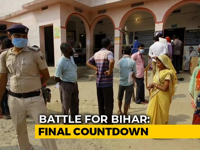 Video : Voting Over In Three-Phased Bihar Elections, Results On Tuesday