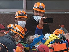 """""""Miracle In 91st Hour"""" As 3-Year-Old Girl Pulled From Turkey Quake Rubble"""