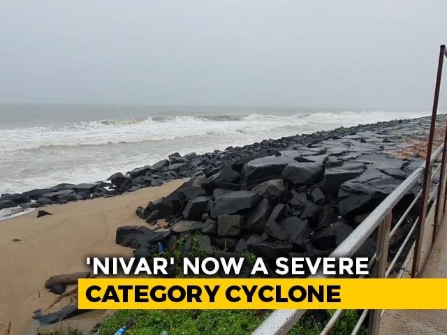 Video : Tamil Nadu, Puducherry Brace For Cyclone Nivar