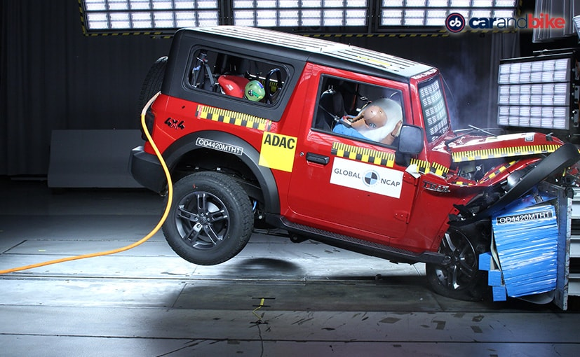 Exclusive: Mahindra Thar Scores 4 Stars In Global NCAP Crash Test