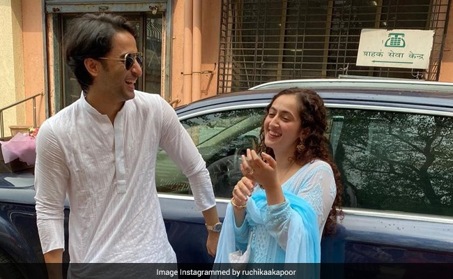 Actor Shaheer Sheikh And Ruchikaa Kapoor Are Married: 'Off On An Adventure Called Forever'
