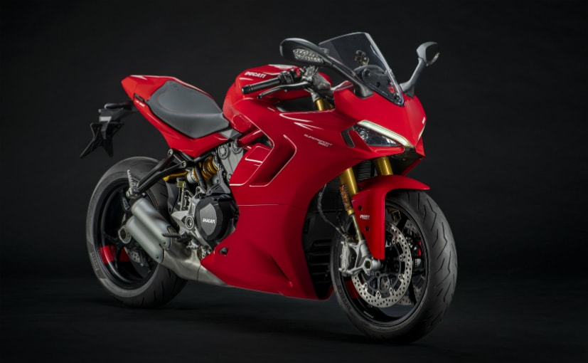 The 2021 Ducati SuperSport gets a bunch of design and feature updates
