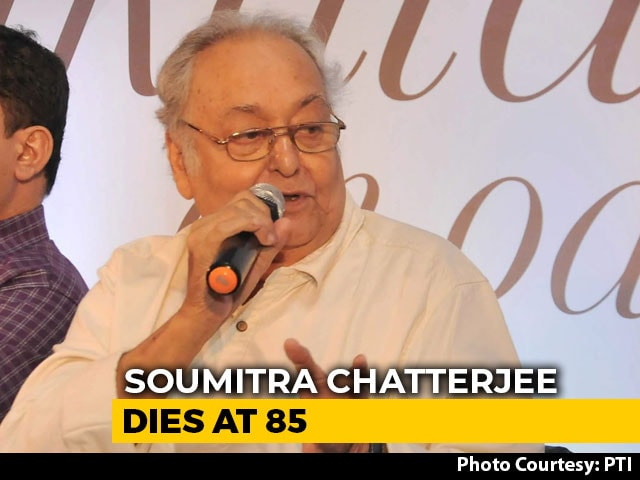 Video : Iconic Actor Soumitra Chatterjee Dies At 85