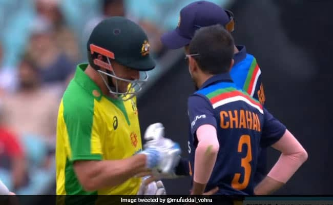 WATCH KL Rahul tried to tickle Aaron Finch after he was hit on the stomach IND Vs AUS 2nd ODI