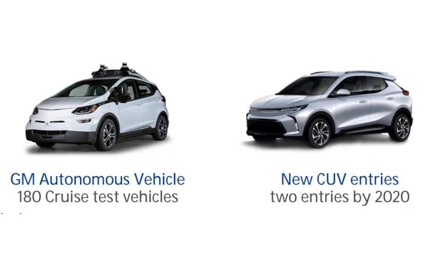 The new Chevrolet Bolt versions look more upmarket than older models.
