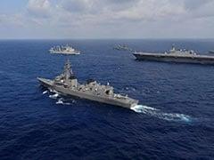 India, US, Japan And Australia Start Naval War Games In Bay Of Bengal