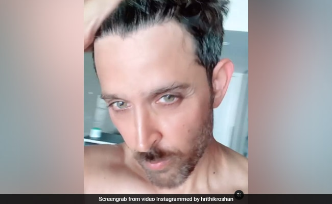 The Internet Is Busy Crushing On 'Beardo' Hrithik Roshan In This Video. It's Easy To See Why