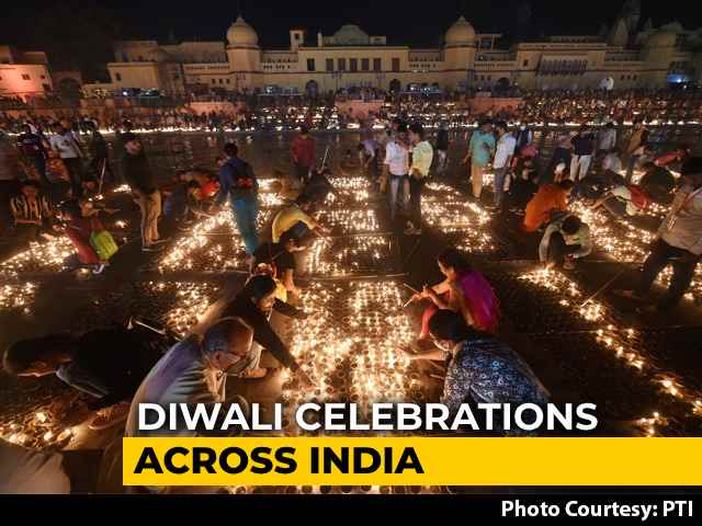 Video : Triumph Of Good Over Evil: Diwali Celebrations Across India
