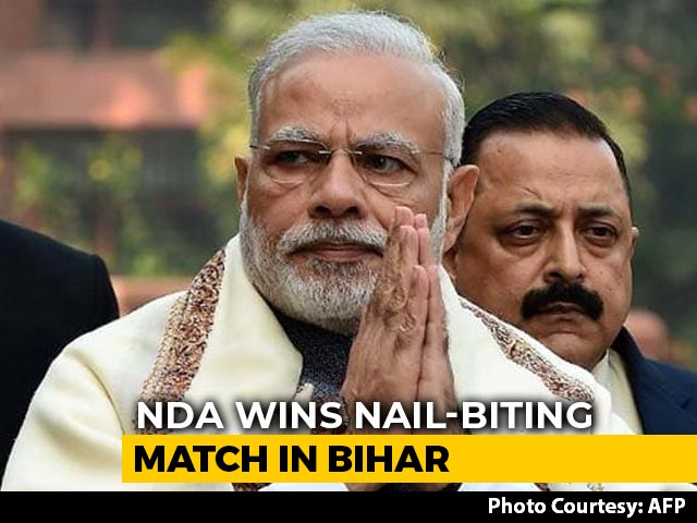 """Video : PM Modi On Bihar Results: """"Voter's Priority Is Only Development"""""""
