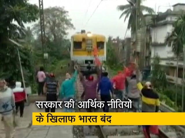 Video : रवीश कुमार का प्राइम टाइम: देश भर के मजदूर संगठनों का भारत बंद