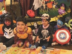 Can You Spot Taimur In This Halloween Spook Fest?