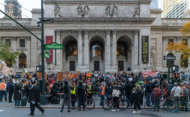 Thousands Protest In New York, Detroit Ahead Of US Election Results