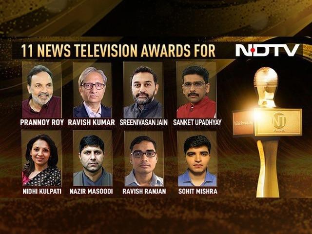 Video : NDTV Wins 11 Huge Awards, Real Journalism Recognised