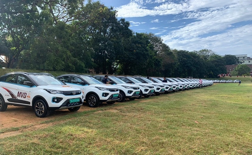 The Kerala Motor Vehicle Department has leased a fleet of 65 Nexon EVs for a period of 8 years