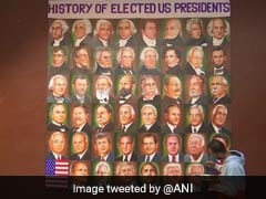 Punjab Painter Adds Joe Biden To His Collage Of US Presidents