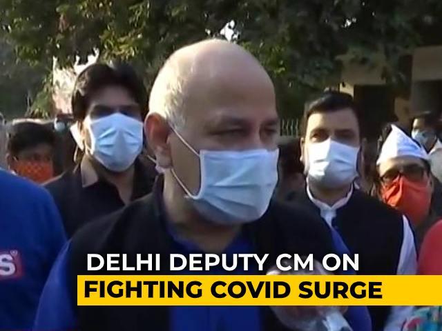 Video : Delhi Has Best Medical Facilities: Manish Sisodia On Covid Treatment