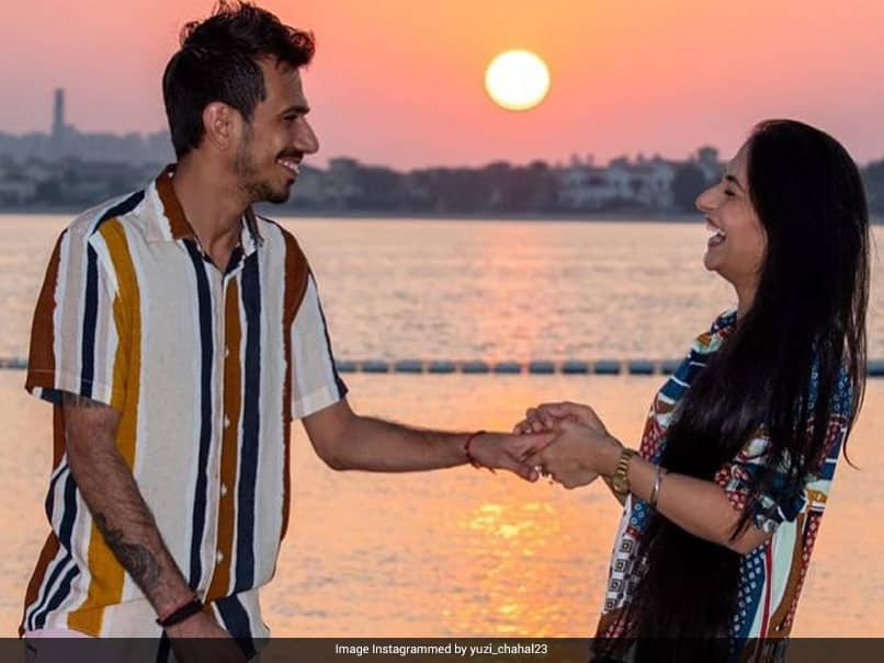 """Follow You Till The End"": Yuzvendra Chahal Posts Adorable Photo With Fiancee Dhanashree Verma"