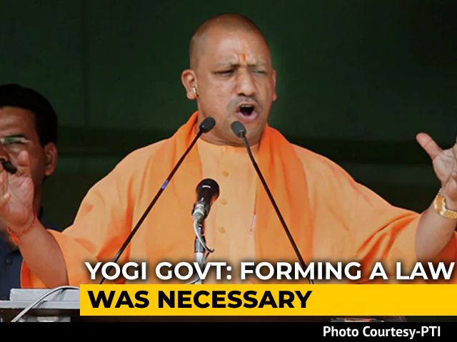 """Video : UP Clears Order To Check Forced Conversions Amid """"Love Jihad"""" Row"""