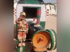 Ladakh Boy, 5, Honoured By Border Police Over Salute Video