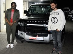 Actor Aayush Sharma Gifts Himself A Land Rover Defender