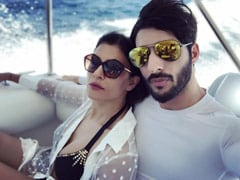 """Sushmita Sen, Who Met Rohman Shawl On Instagram, Opens Up About """"15 Years Younger Kind Of Romance"""""""