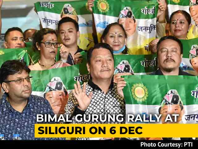 Video: Gorkha Leader Bimal Gurung Set To Return To Darjeeling, Says Colleague