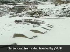 Jammu-Srinagar National Highway Closed Due To Snowfall