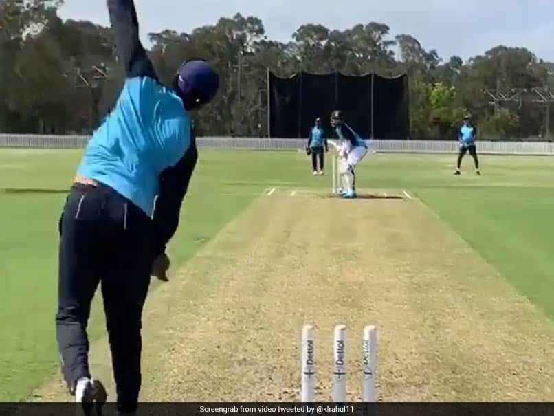 Watch: KL Rahul Gears Up For Indias Tour Of Australia With Wide Array Of Shots