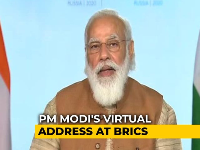 """Video : """"Countries Guilty Of Supporting Terrorism Must Be Punished"""": PM Modi"""