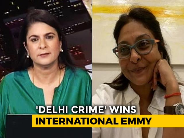 "Video : 'Delhi Crime' Star Shefali Shah's ""OMG Moment"""