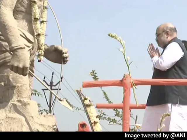 Video : On Statue Blooper During Amit Shah's Bengal Visit, Trinamool's Taunt