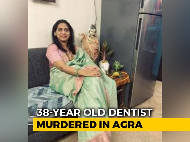 Video: UP Doctor, 38, Murdered At Home While Her Children Were In Another Room