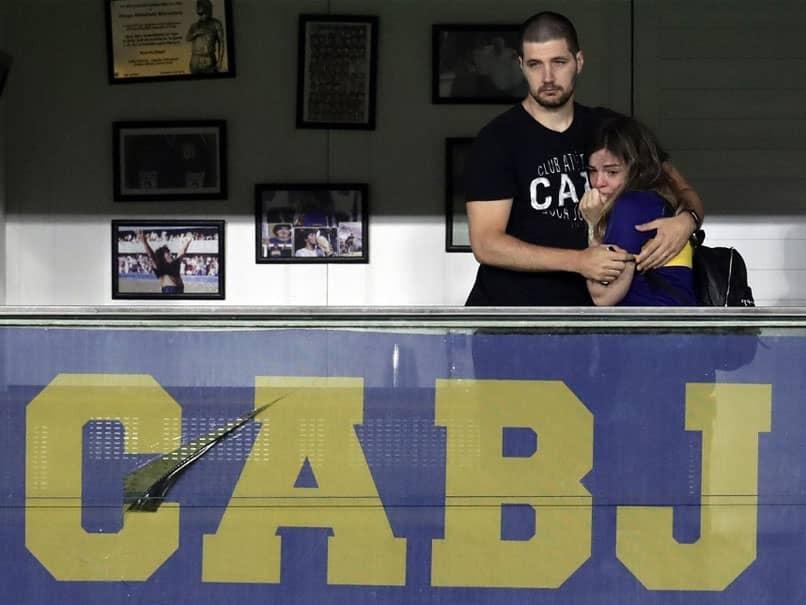 Watch: Boca Juniors Emotional Tribute Brings Diego Maradonas Daughter To Tears