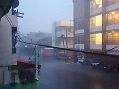 4 Dead As Typhoon Goni Batters Philippines