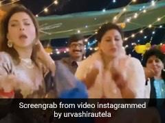 उर्वशी रौतेला ने दिवाली पर मम्मी के साथ 'बुर्ज खलीफा' गाने पर किया धमाकेदार डांस, VIDEO हो रहा है वायरल
